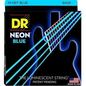 DR STRINGS NEON™ BLUE – BASS