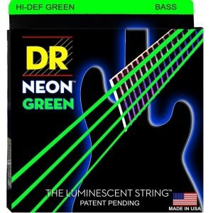 DR STRINGS NEON™ GREEN – BASS