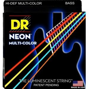 DR STRINGS NEON™ MULTI-COLOR  – BASS