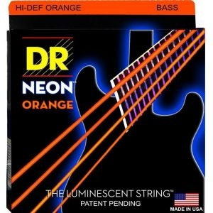 DR STRINGS NEON™ ORANGE – BASS