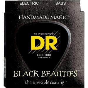 DR STRINGS BLACK BEAUTIES™ – BASS