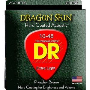 DR STRINGS DRAGON SKIN – ACOUSTIC