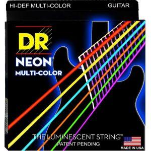 DR STRINGS NEON™ MULTI-COLOR – GUITAR