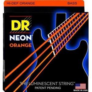 DR STRINGS NEON™ ORANGE – BASS