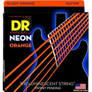 DR STRINGS NEON™ ORANGE – GUITAR