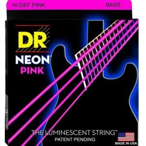 DR STRINGS NEON™ PINK – BASS