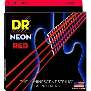 DR STRINGS NEON™ RED – BASS