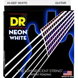 DR STRINGS NEON™ WHITE – GUITAR