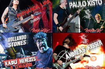 Artistas das marcas Novità Music presentes no Rock in Rio 2019